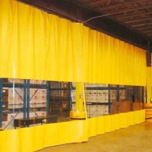Штора для склада из пвх 2х10м
